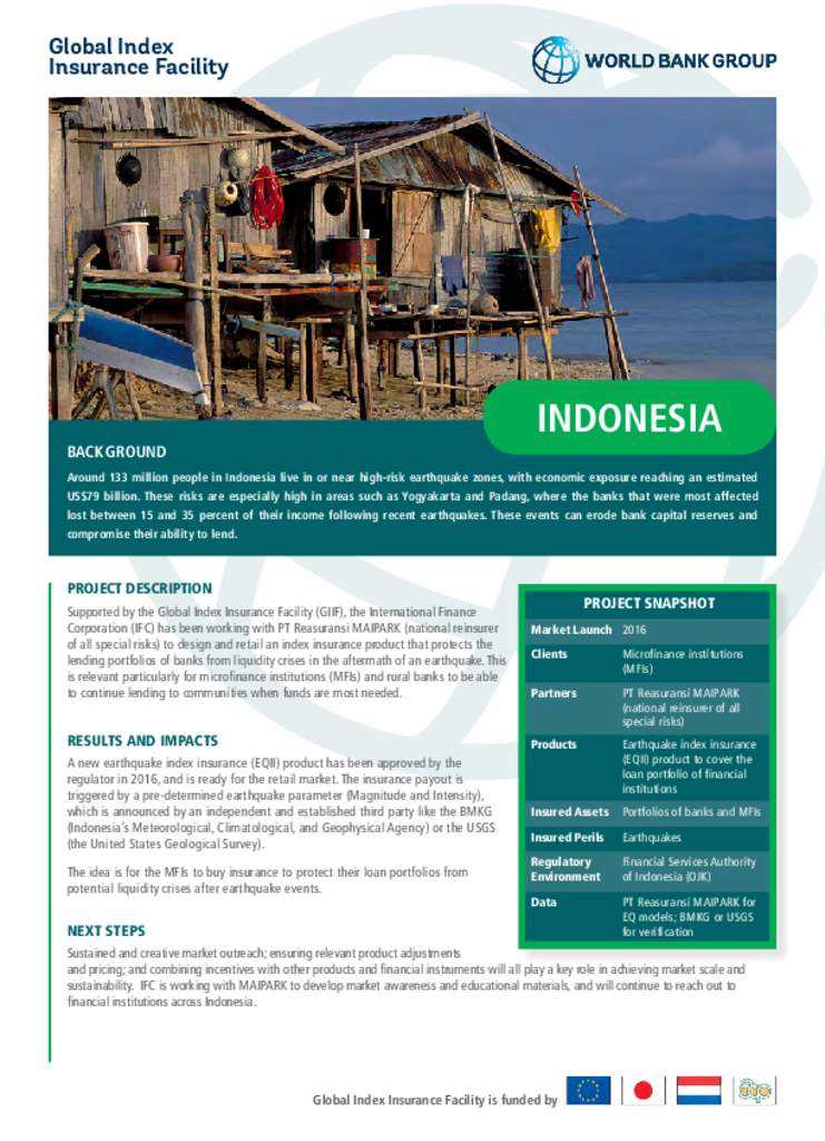 GIIF Country Profile: Indonesia
