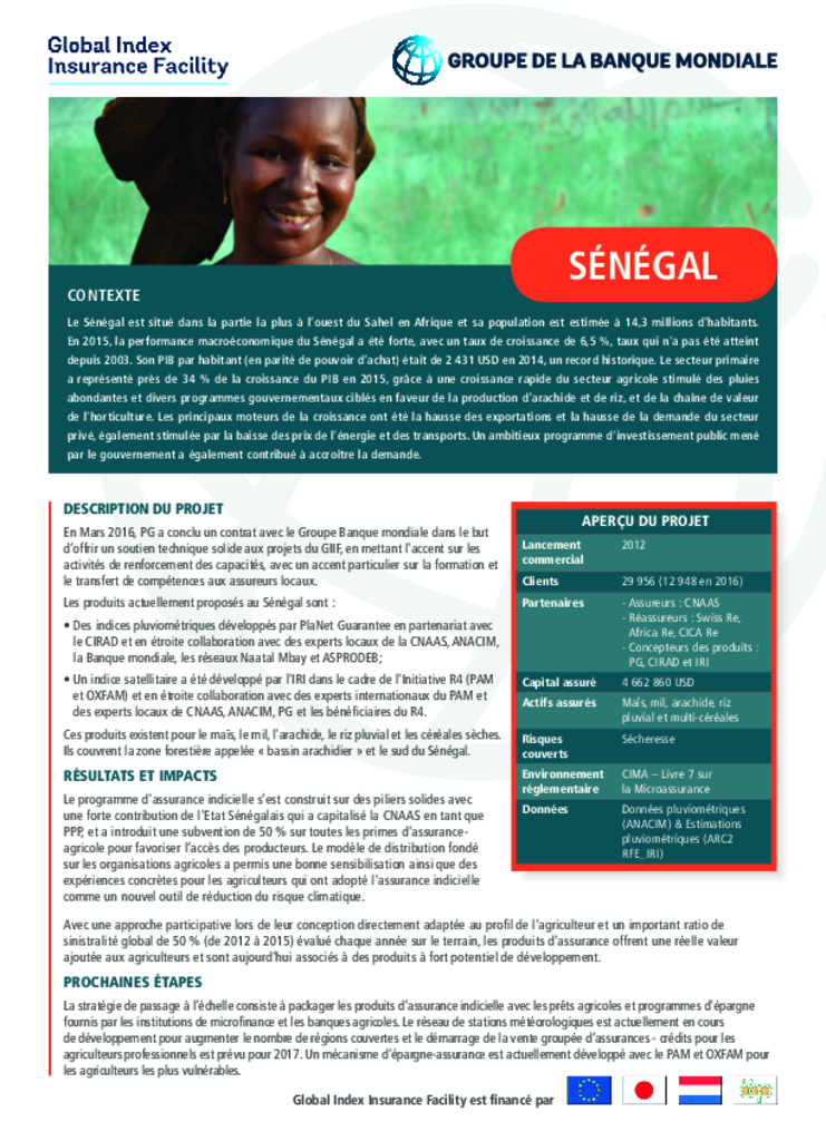 Country Profile: Senegal (Fr)