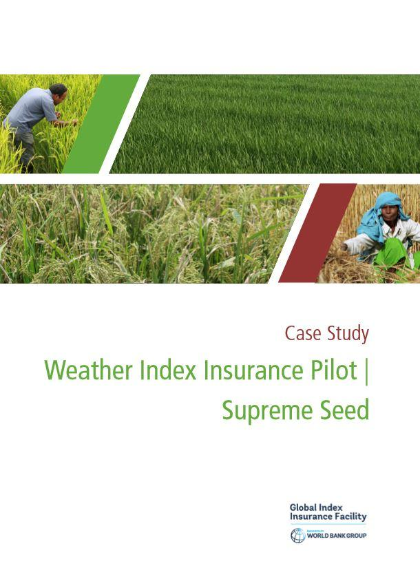 Case Study: Weather Index Insurance in Bangladesh | Index