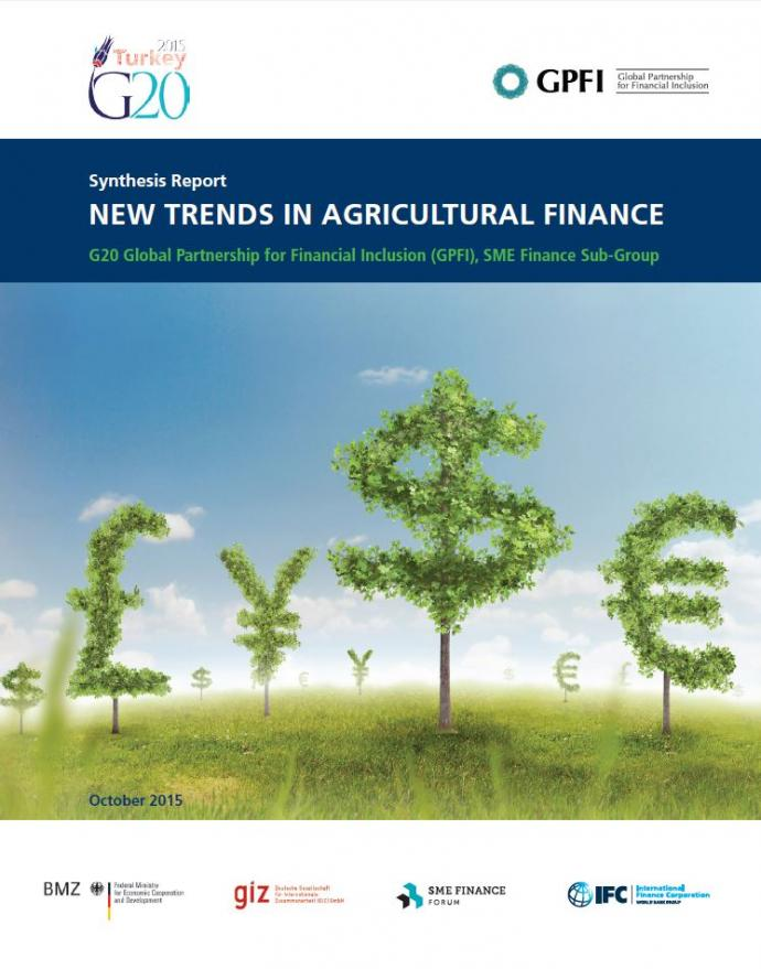 New Trends in Agricultual Finance