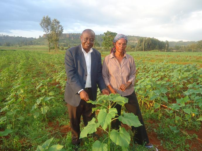 Edward and Pauline Mkopi, Trans Nzoia Farmers